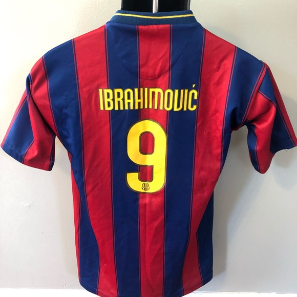 outlet store a7fd2 d837b Nike FC Barcelona Soccer Jersey Ibrahimovic 9 FCB